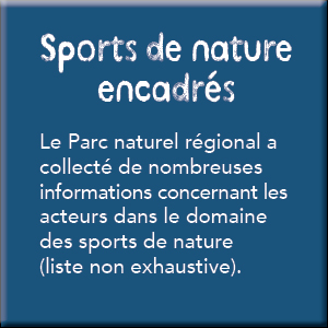 sports de nature encadrés