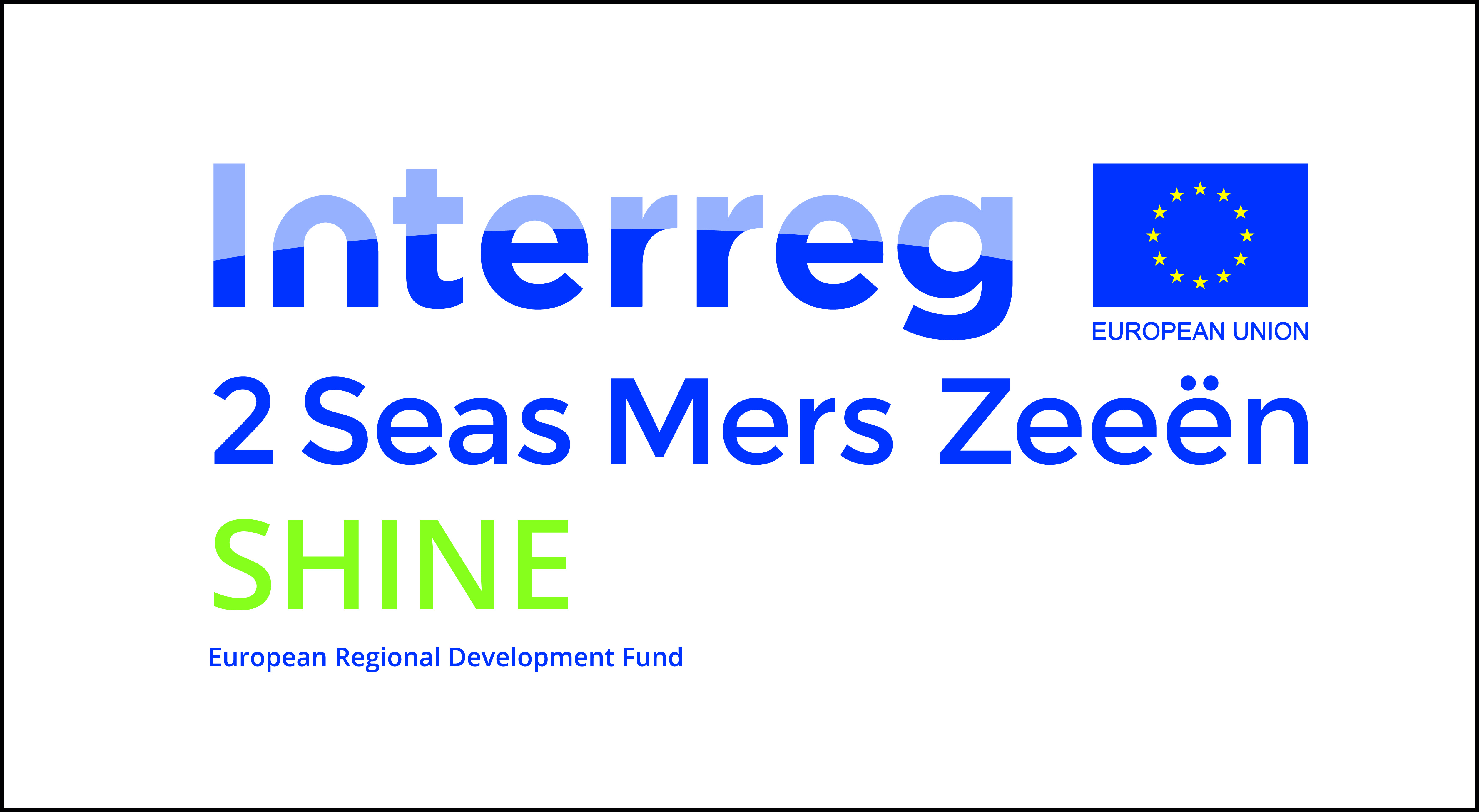 Logo Interreg Shine outline