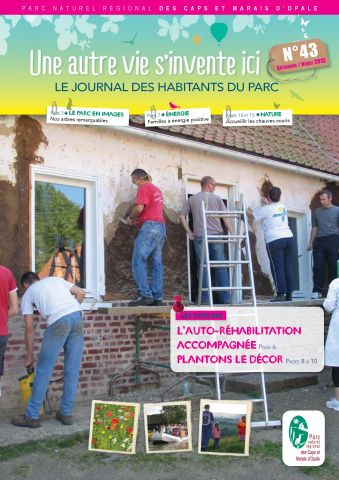 Couv de journal habitants 43